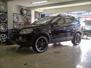 Chevrolet Captiva Modif