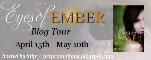 {Review+Giveaway} Eyes of Ember by Rebecca Ethington
