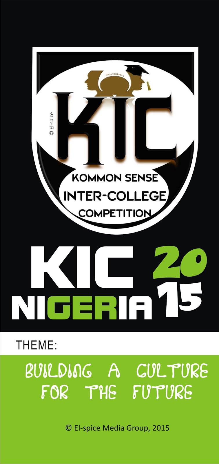 KIC  NIGERIA 2015
