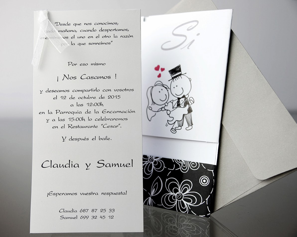 INVITACION DE BODA 34903 CARDNOVEL