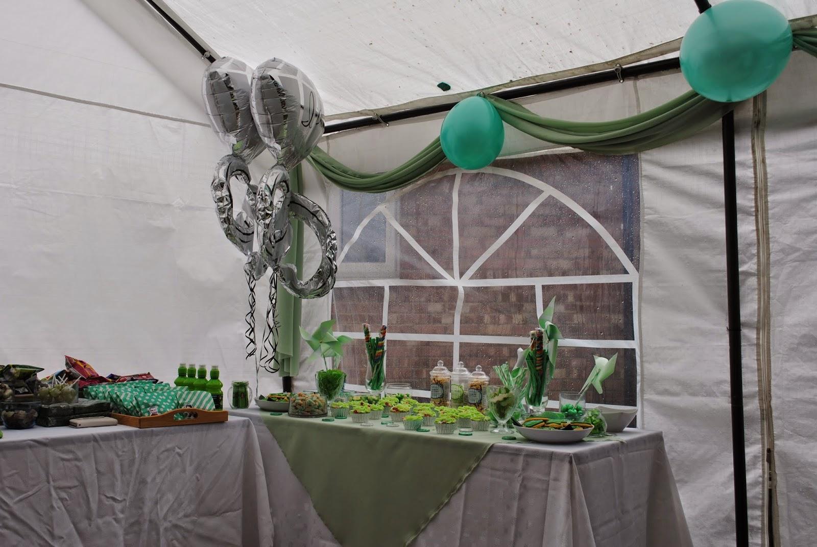 happy muslim mama mint green baby shower