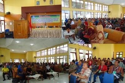 Pembukaan IN Implementasi Kurikulum 2013 di Aula Besar LPMP Sultra.