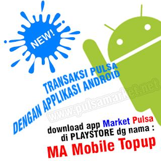 Aplikasi Android Market Pulsa