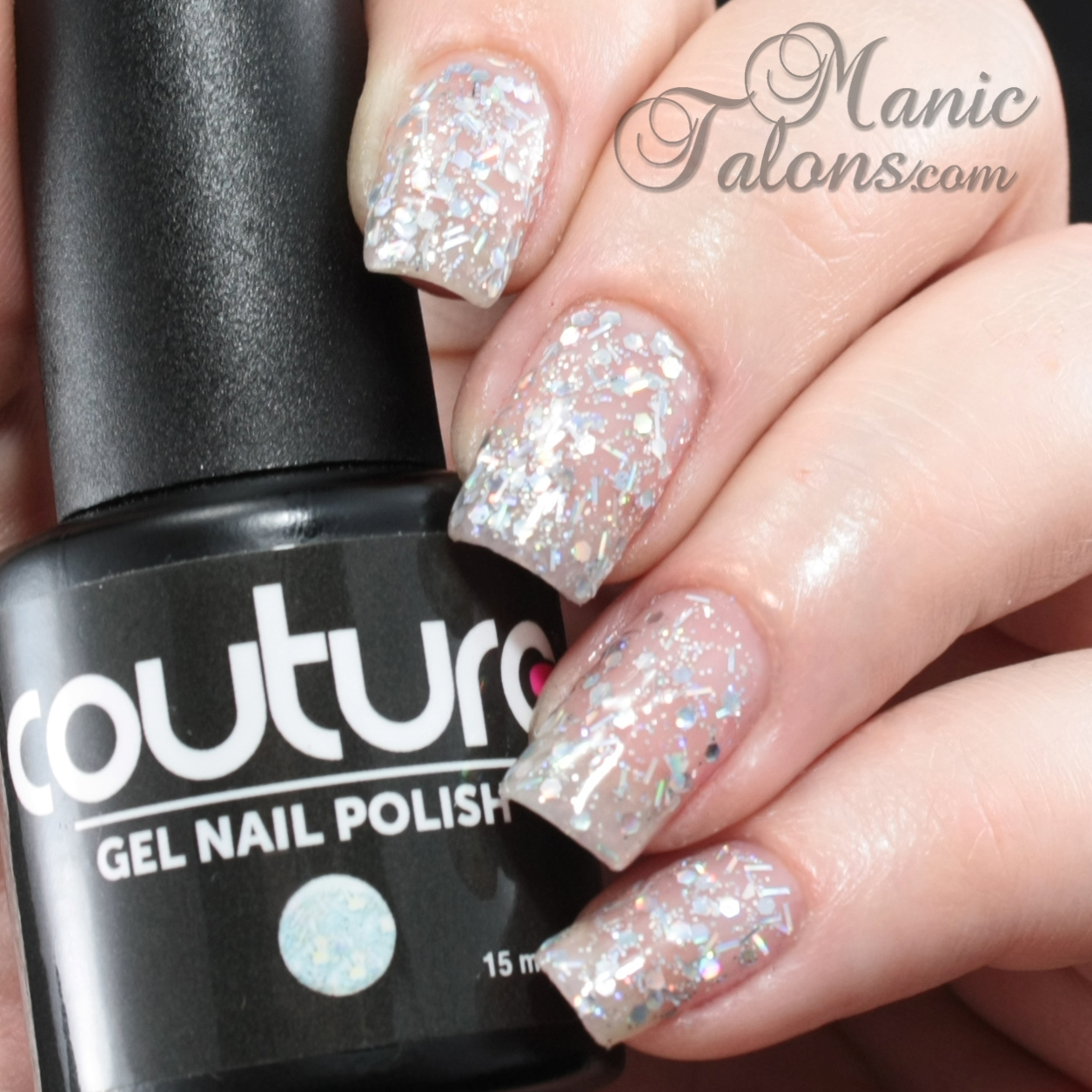 Couture Gel Polish All That Glitters Collection Make An Entrance Swatch