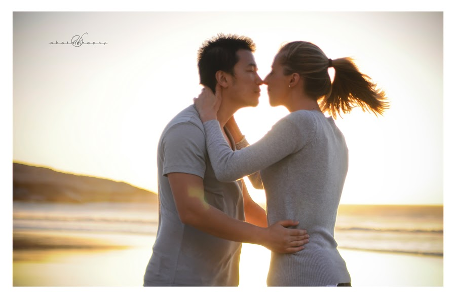 DK Photography 48 Kate & Cong's Engagement Shoot on Llandudno Beach  Cape Town Wedding photographer
