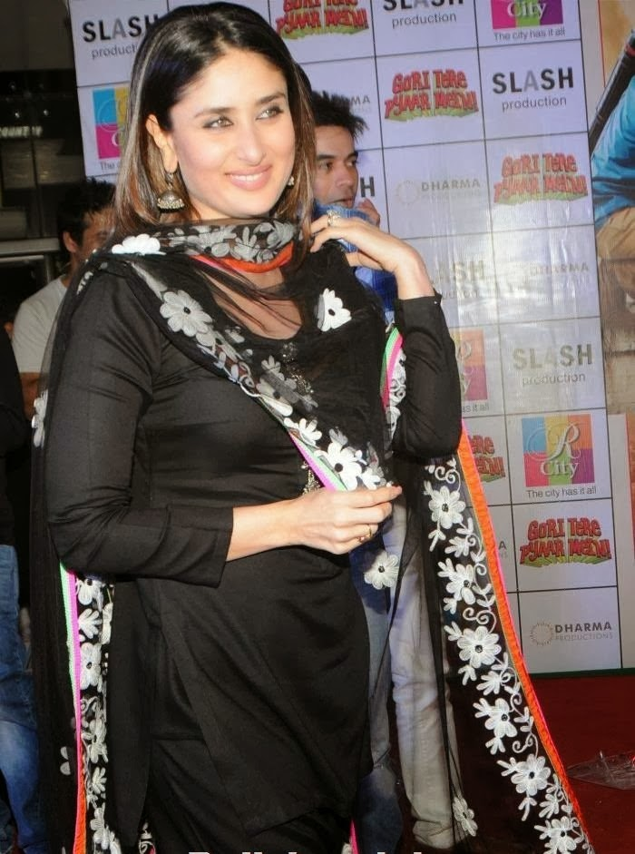 Kareena Kapoor  looks hot  in punjabi dress
