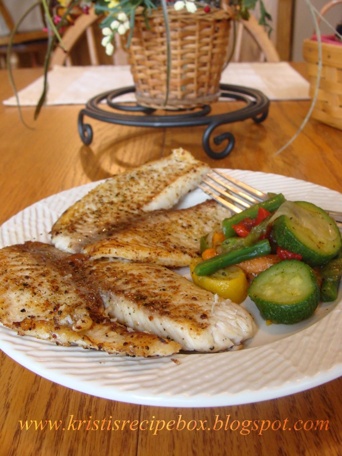 how to make pan seared tilapia