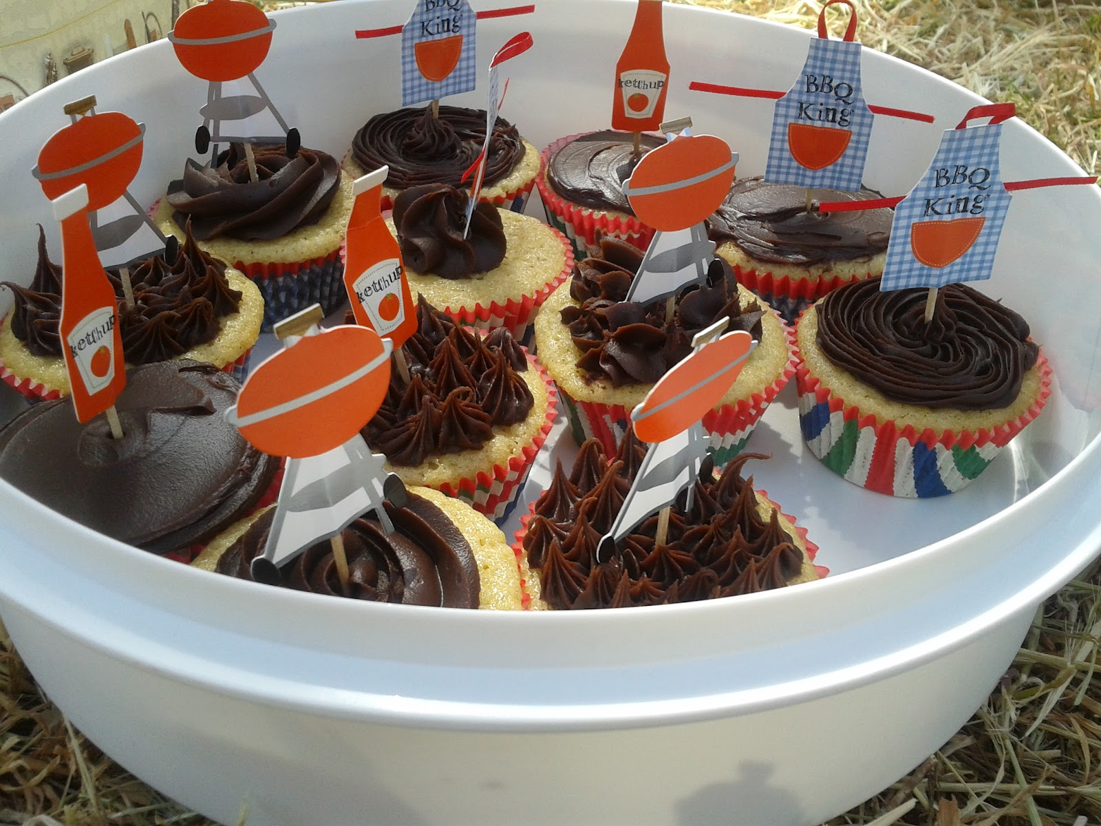 Baking and Mistaking: The best cupcake for a BBQ