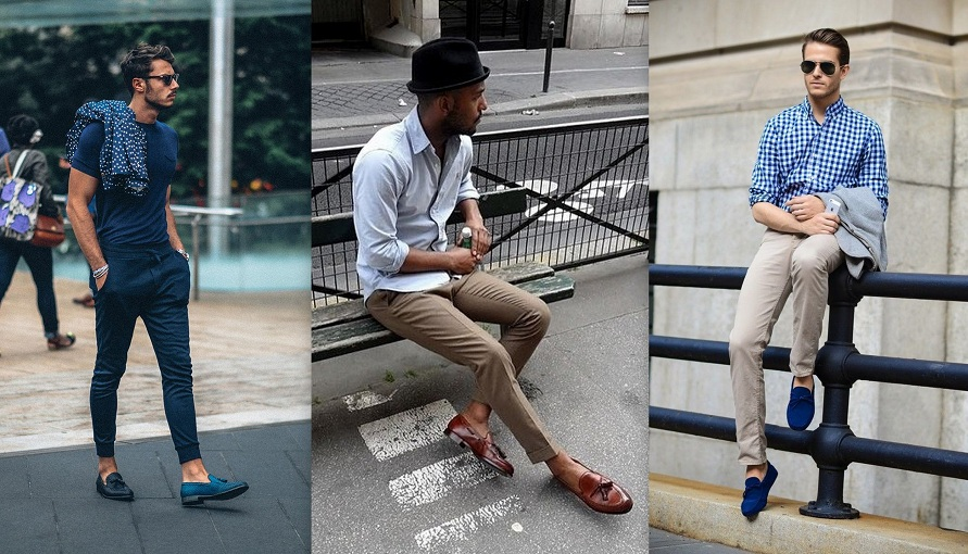 Loafers Men Styling Tips India Spring Summer 2015 Trend