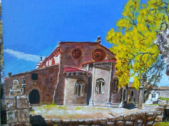 Iglesia Santa Mariña de Augas Santas de Allariz