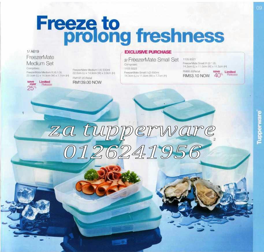 Za Tupperware Brands Malaysia : Catalogue 1 October - 10 November 2012