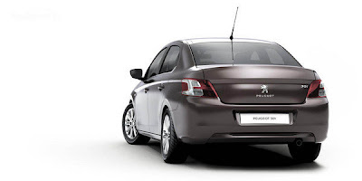 2013 peugeot 301 Side Behind