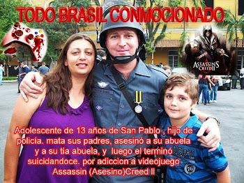 Niño adicto a Assassin's Creed ll Mata a toda su familia