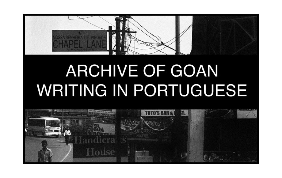 Archive of Goan Writing in Portuguese