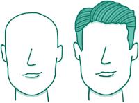 potongan rambut pria untuk wajah panjang