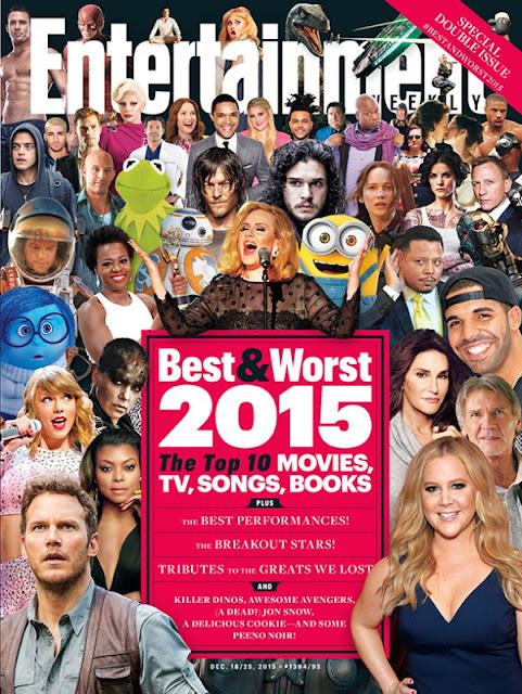 Los peores álbumes y sencillos del 2015 según Entertainment Weekly.