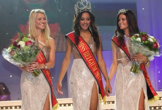 miss belgium belgie 2012 winner laura beyne