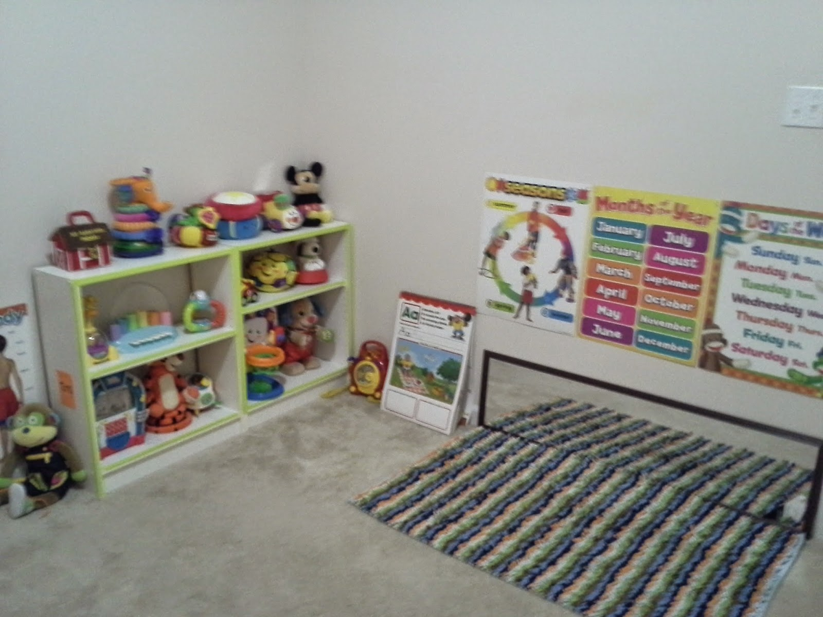 make your own classroom for deafblind child