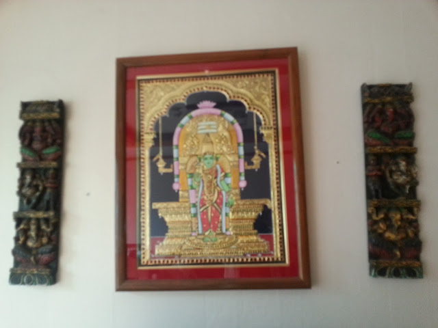 Madurai Meenakshi Thanjavur painting