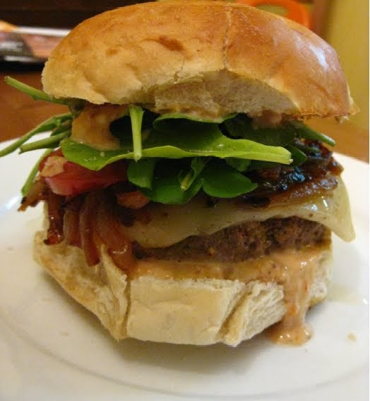 A Taste of Home Cooking: Ultimate Sriracha Burgers and ...