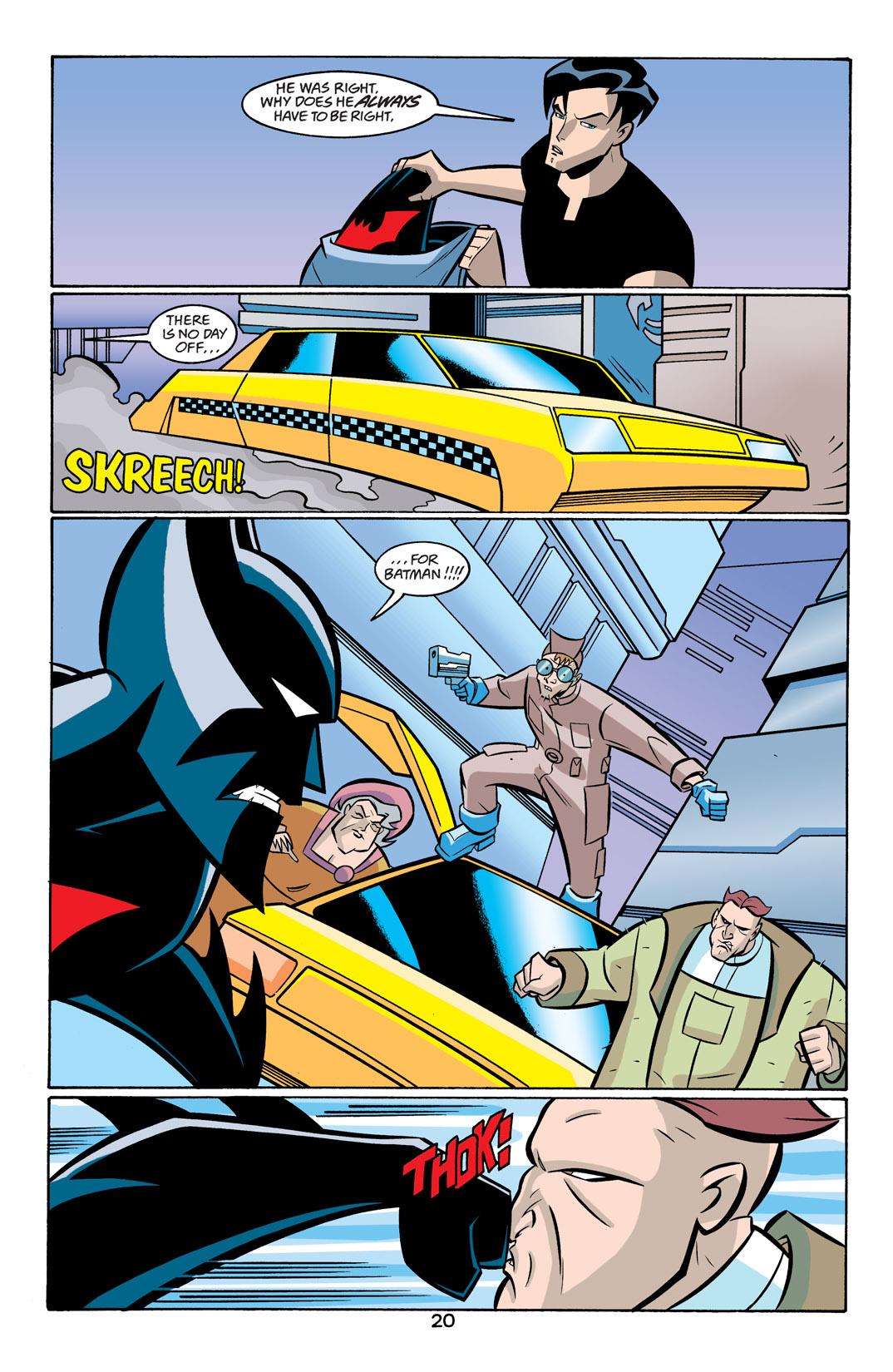 Batman Beyond [II] Issue #19 #19 - English 21