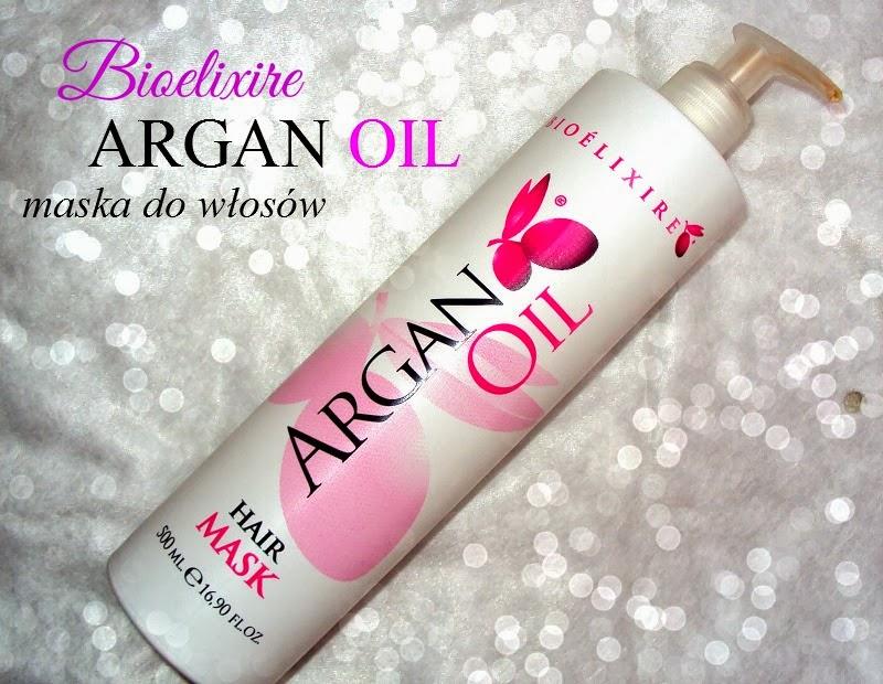 Bioelixire, Argan Oil Hair Mask (Maska do włosów z olejkiem arganowym)