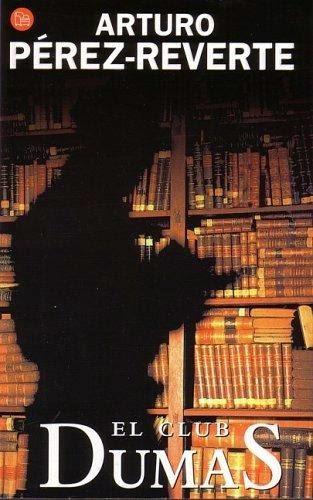 Portada Libro Club Dumas Perez Reverte fotogramailustrado