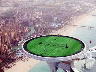 Burj Al Arab Luxury Hotel Tennis Courte