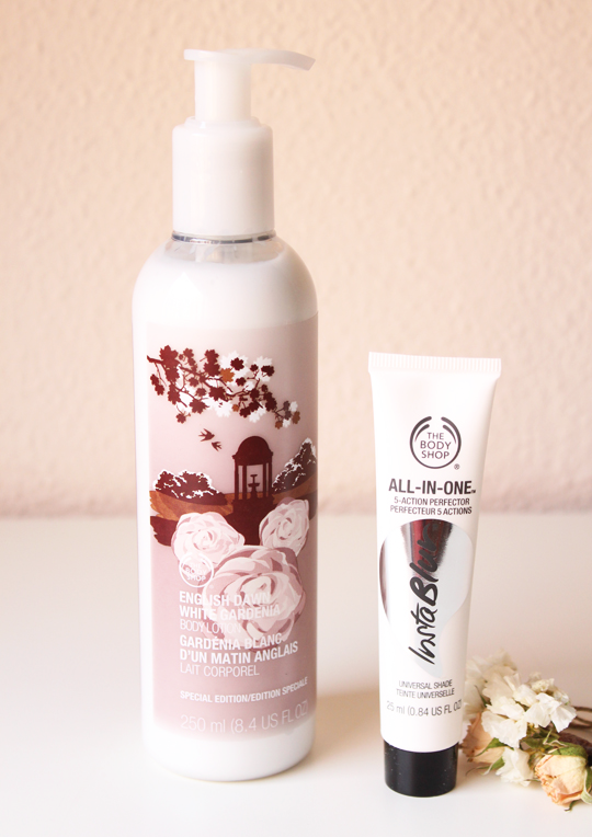 InstaBlur y Leche de Gardenia de The Body Shop