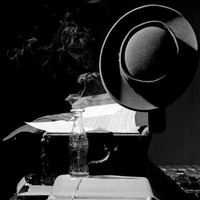 chapéu de lester young, foto de herman leonard