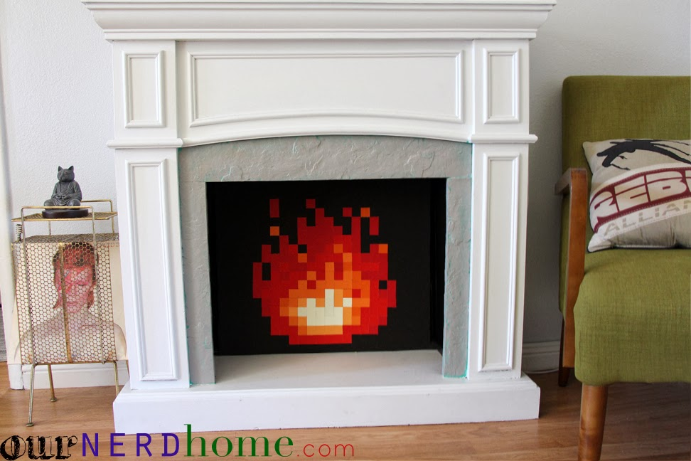 GEEK CRAFT: Make Your Own LEGEND OF ZELDA 8-Bit Fire For Your ...