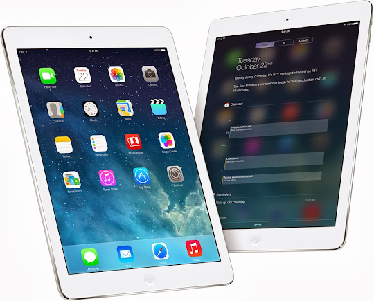 Apple iPad Air iOS 7