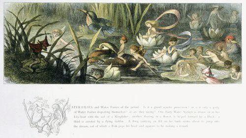 ไพ่แฟรี่เทลส์ ไพ่ทาโรต์แฟรี่ Fairy Tarot Loscarabeo ริชาร์ด ดอยล์ richard doyle fairy faery tales