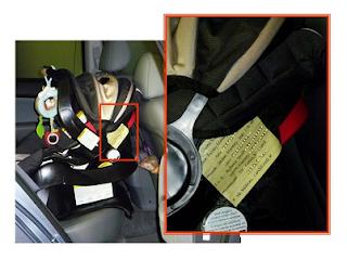 Car Seat Info Tag