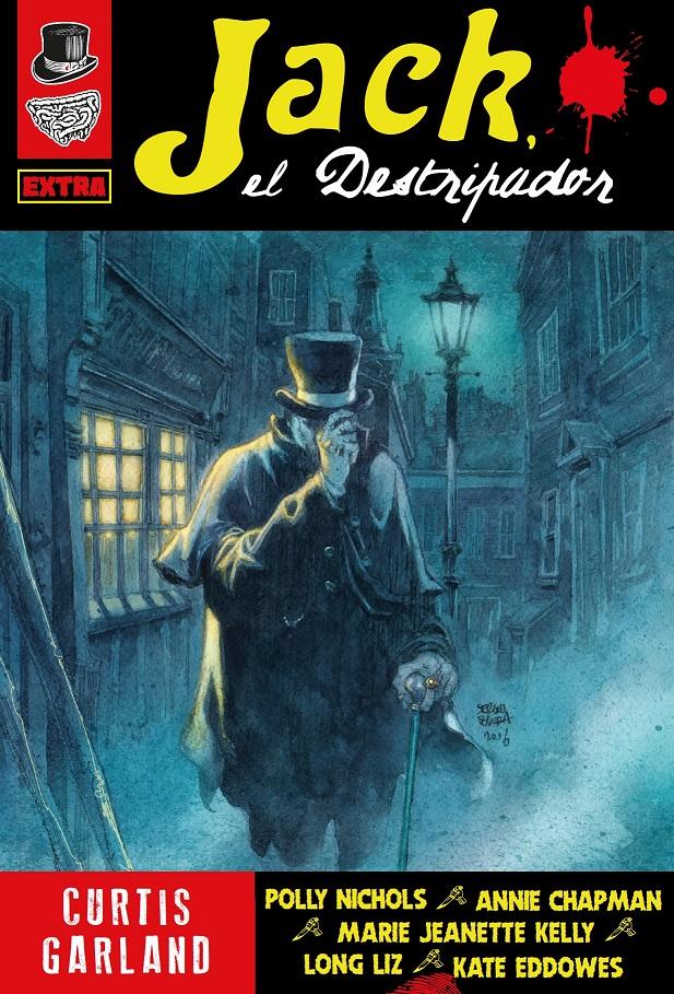 ¡NUEVO! Jack el Destripador, de Curtis Garland. 27 euros