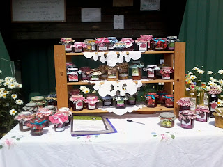 Kris (another allotment holder) brought down some of her fantastic jams and chutneys and they were available for sale
