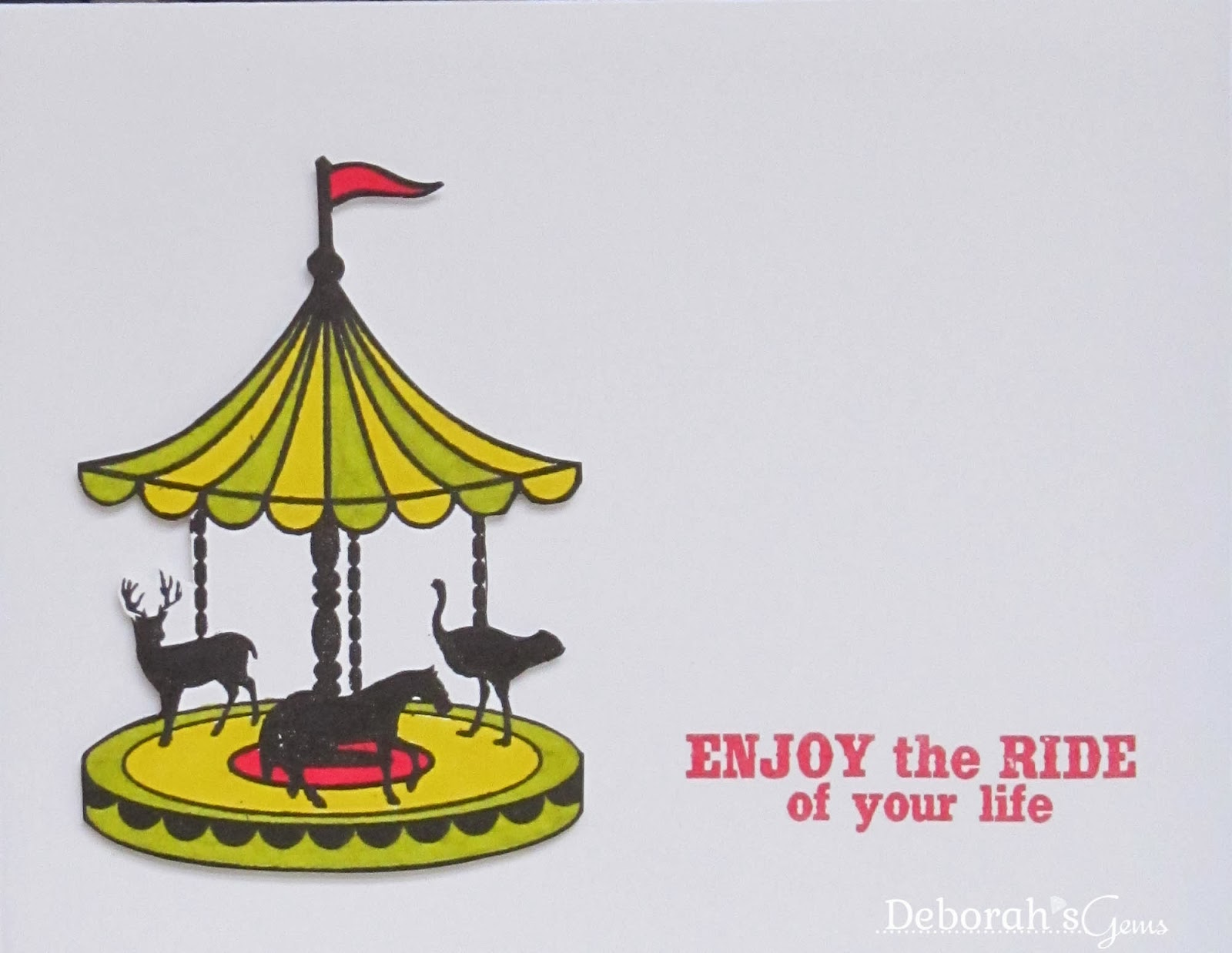 Enjoy the Ride - photo by Deborah Frings - Deborah's Gems