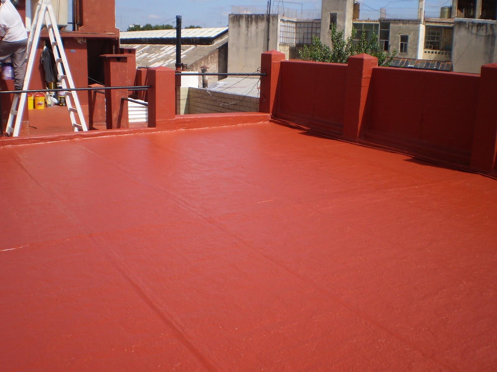 Ag trabajos verticales membrana l quida techos for Aplicar cera de concreto sobre baldosas