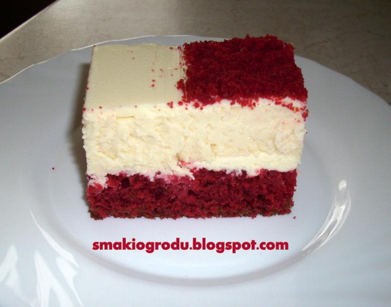 Smaki Ogrodu Sernik Bialo Czerwony Z Red Velvet Cake