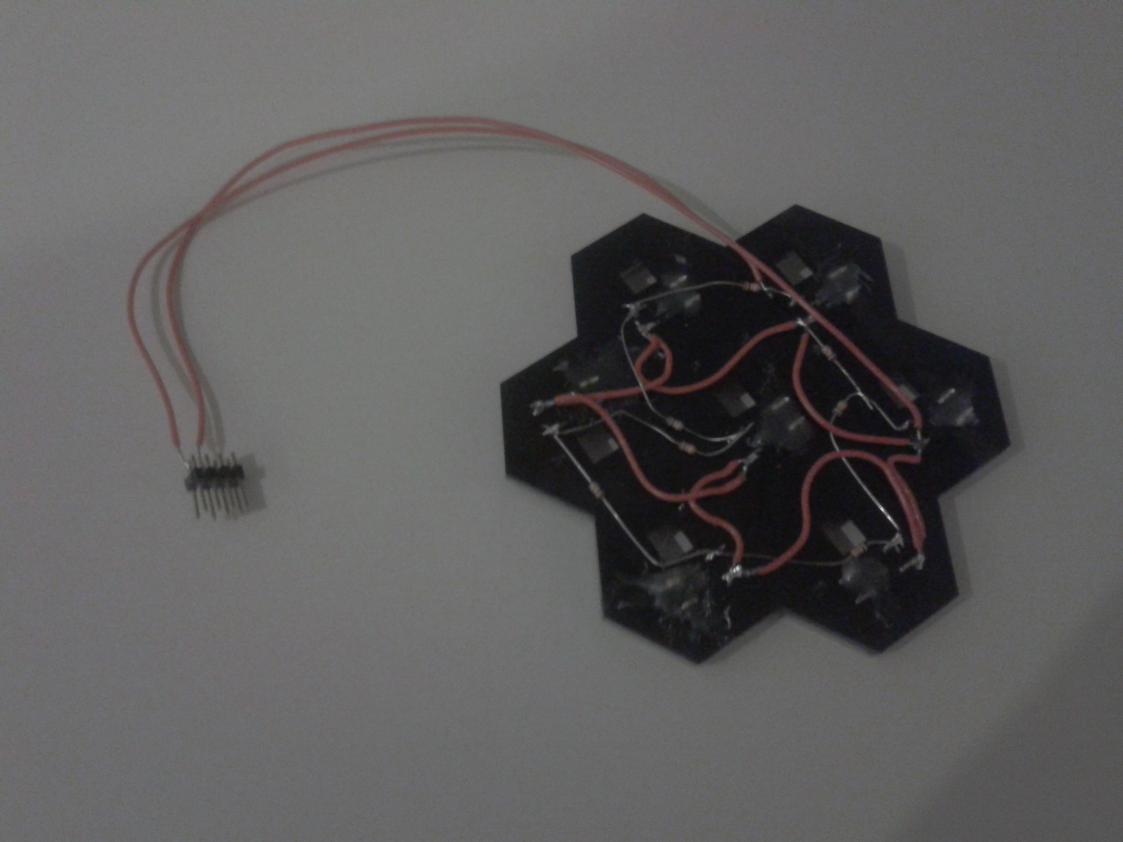 Nerd Club: Resistor ladder for digital board game