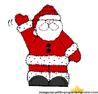 Santa claus picture for kids