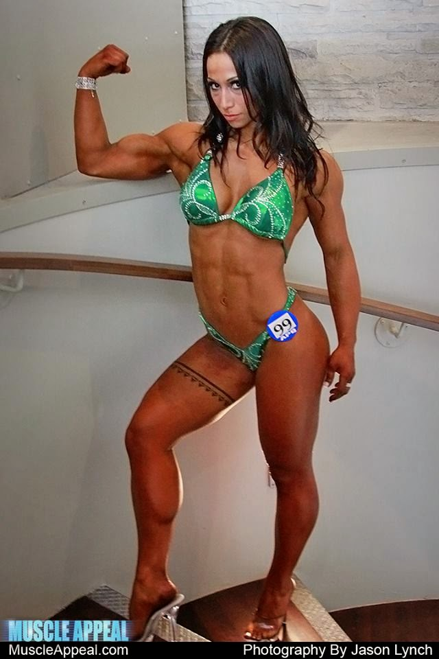 asian muscular girl