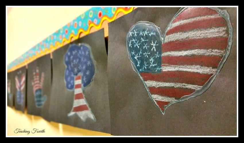 Upper Elementary Snapshots: Veterans Day Art