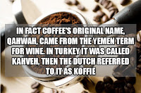 INTRESTING FACTS ABOUT COFFEE