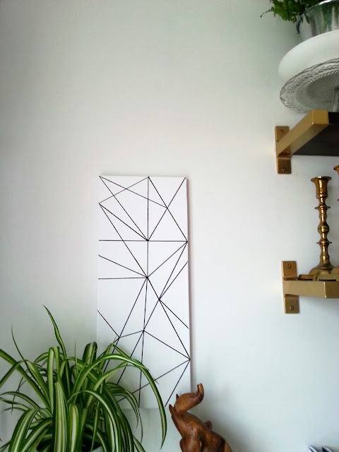 easiest diy geometric art