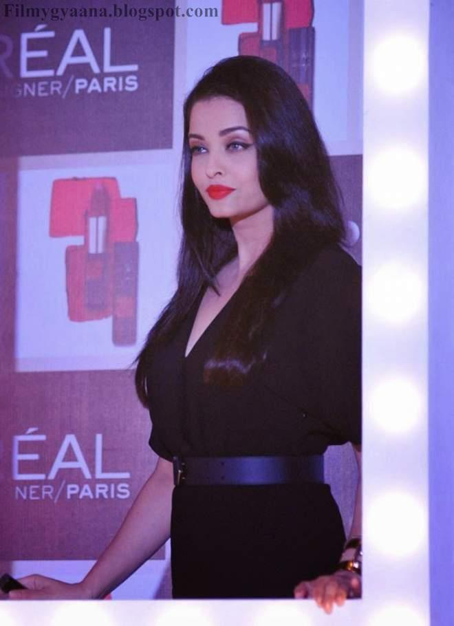 Aishwarya Rai at L'Oreal Paris Pure Lipsticks Launches