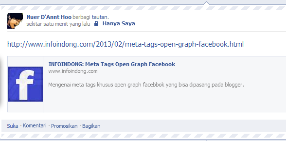 Meta Tags Open Graph Facebook 2