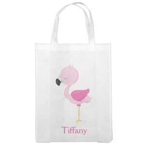 Flamingo Reusable Bag