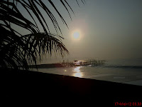 Photo sunrise Pangandaran
