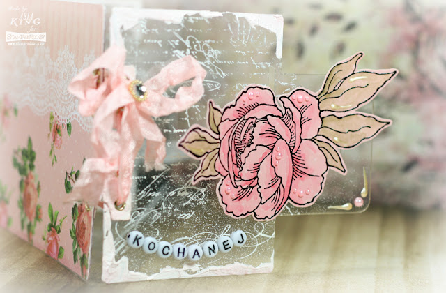 stamping on acrylic sheets and acetate